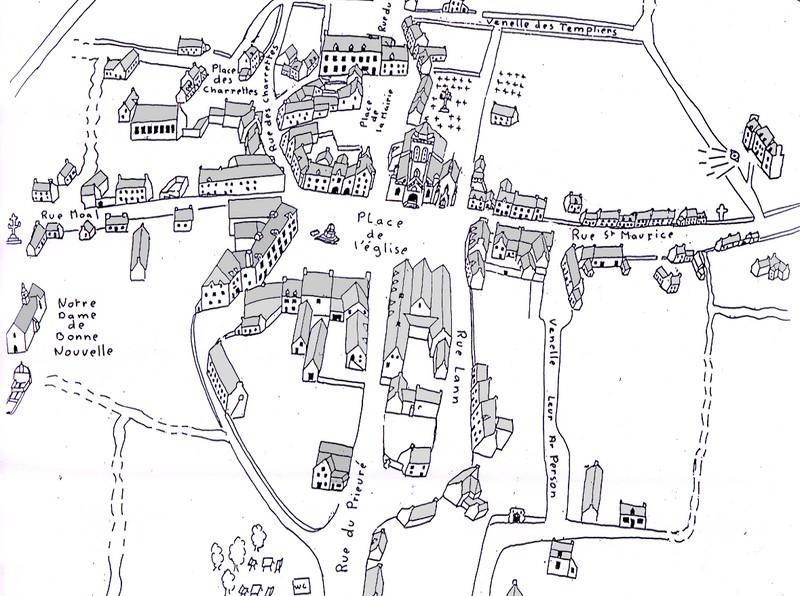 Карта Локронана, Locronan