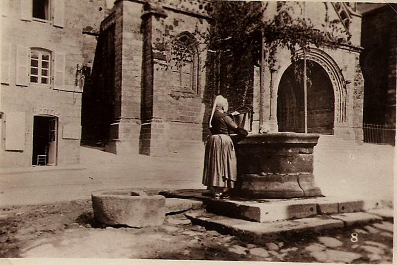 Balade à Locronan en 1930