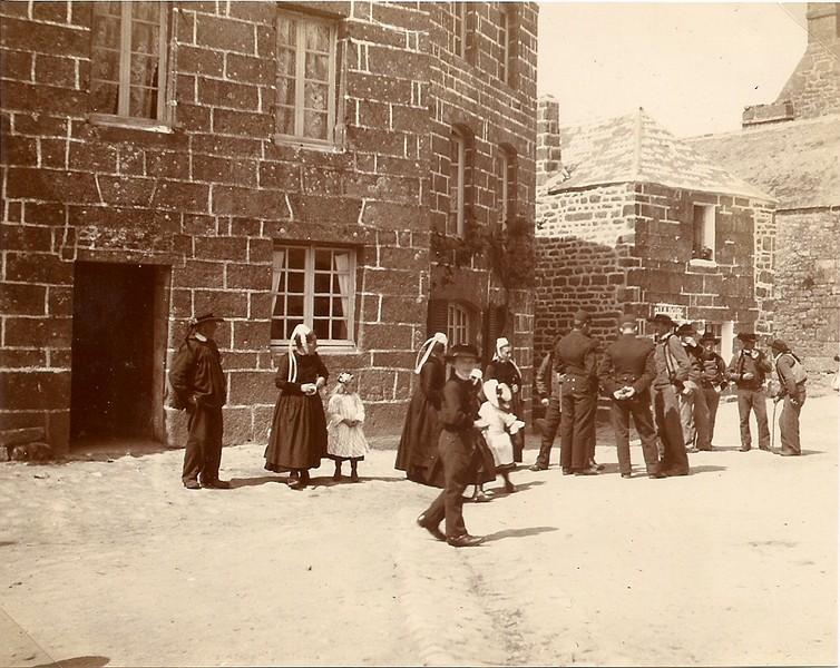 Reportage photographique lors de la petite Troménie 1913